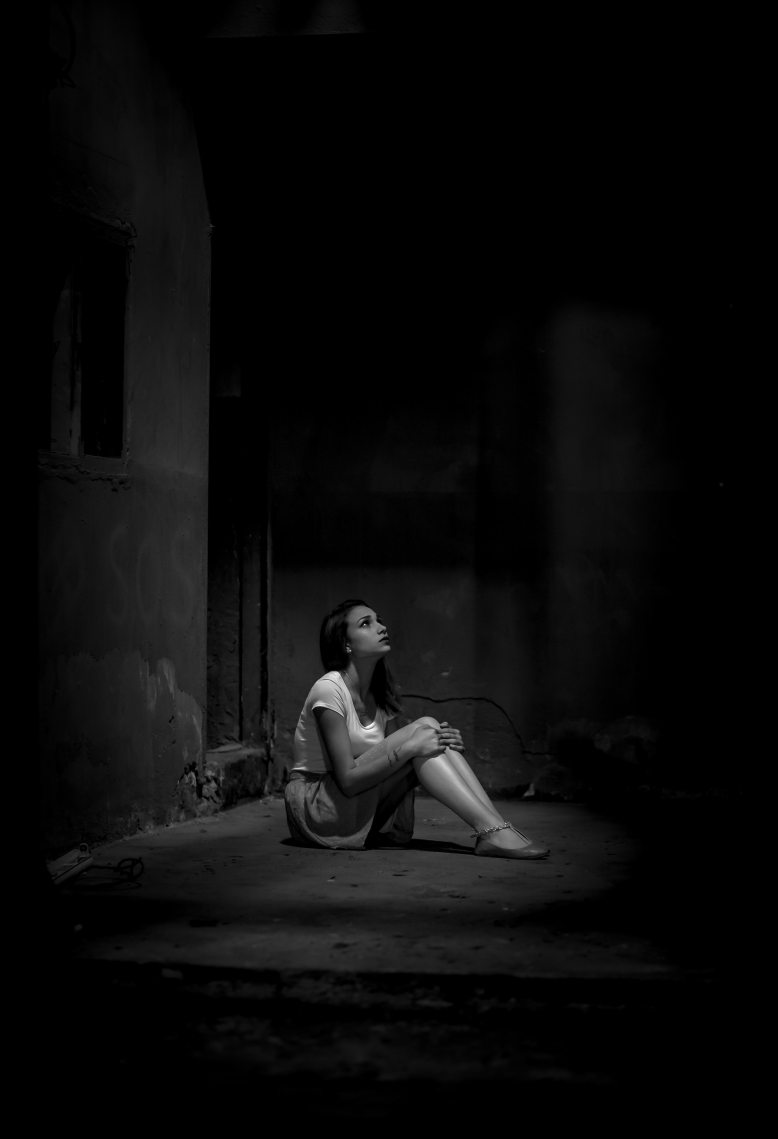 adult-alone-black-and-white-2223064