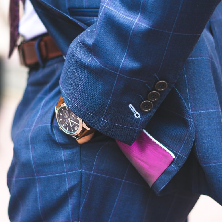 person-wearing-blue-plaid-suit-jacket-and-dress-pants-2254119