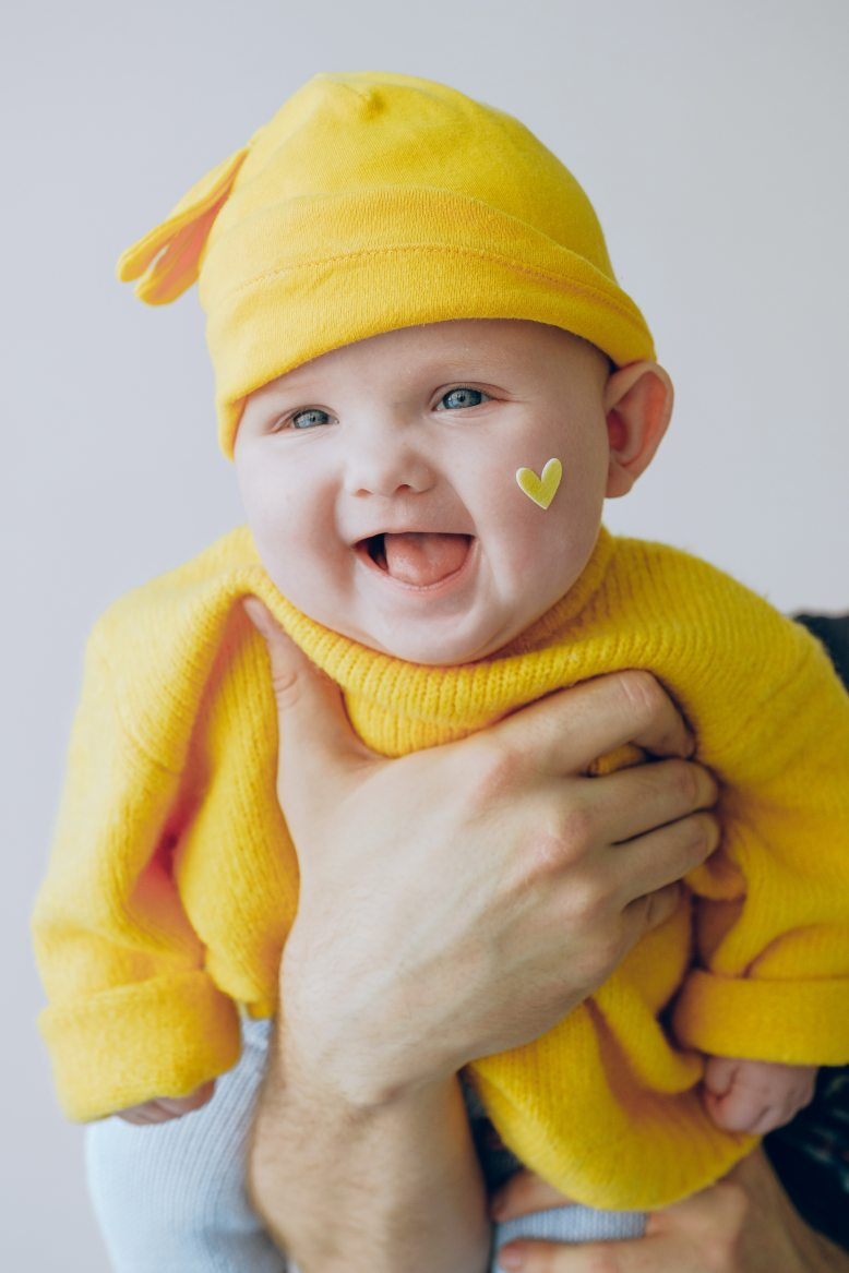 baby-in-yellow-knit-cap-and-yellow-knit-sweater-3845492